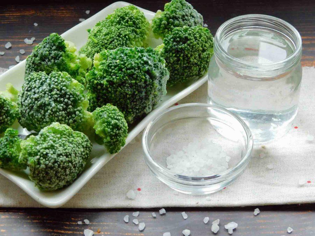 ингредиенты для варки брокколи