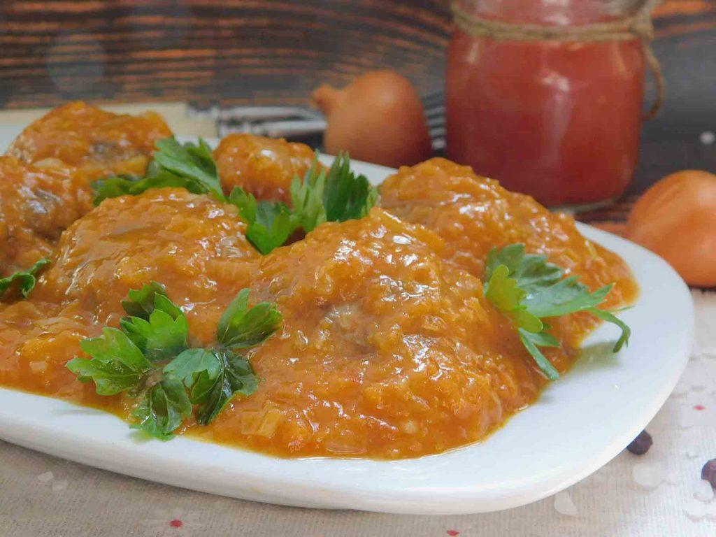 овощной соус для тефтелей