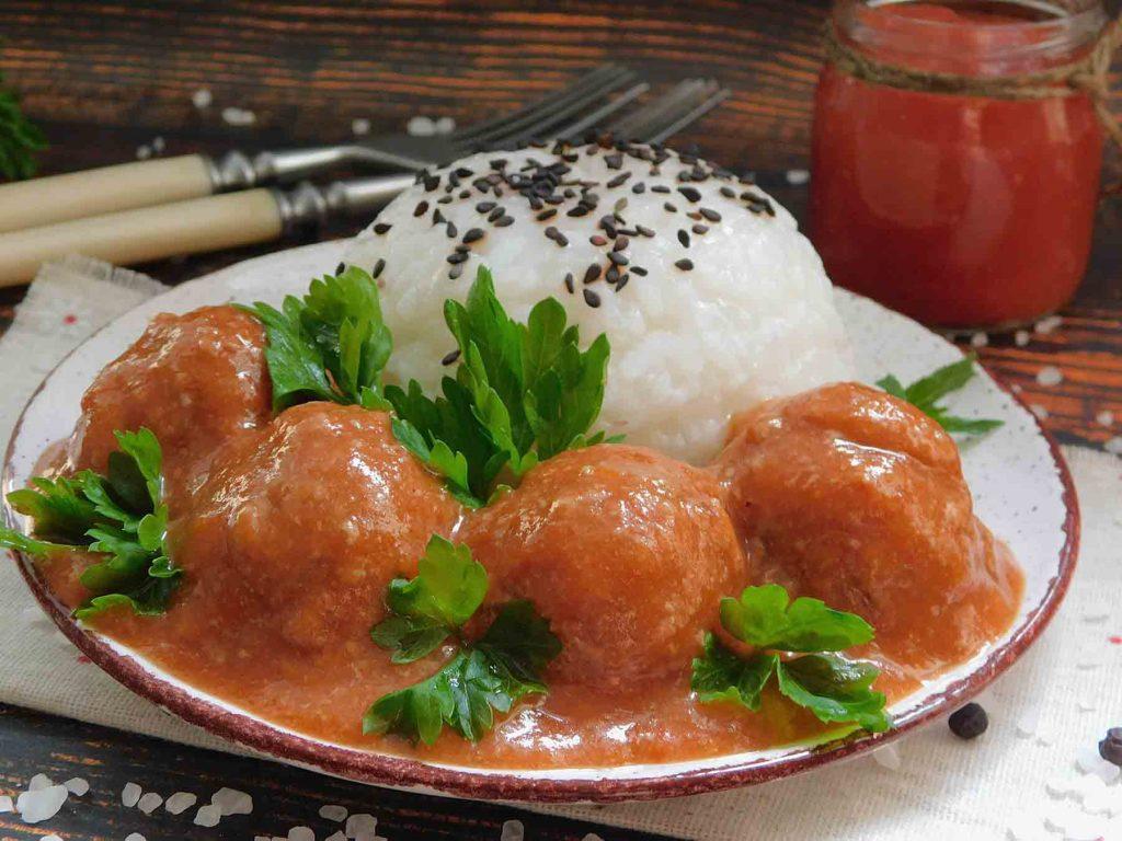 соус для тефтелей с томатом